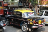 Iconic Black Taxis.